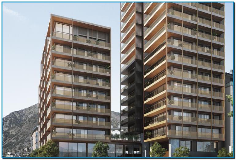 Invertir en Andorra Grupo ERMA especializado en promociones inmobiliarias en Cataluña y Andorra desde hace 60 años ha impulsado la construcción de A Tower en Andorra