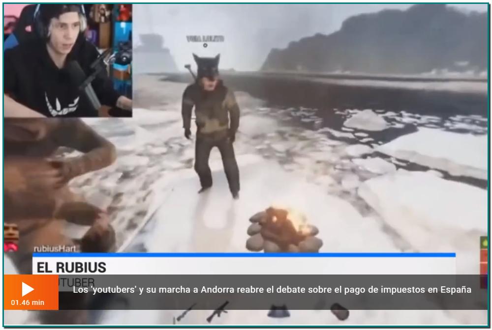 Los 'youtubers' y su marcha a Andorra reabre el debate sobre el pago de impuestos en España