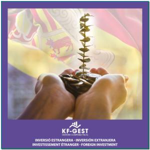 INVERSIÓ ESTRANGERA 📊 Invertir a Andorra és un valor segur. 🇦🇩 👉 Creació de societats 👉 Obtenció del permís de residència Estàs interessat❓ Contacta'ns, estem de guàrdia! Atenció telefònica de 9:00h a 13:00h ☎ +376 723 800 📧 info@kfgest.com 🌐 www.kfgest.com #empresa #assessorament #societats #gestoria #business #andorra #professional #experts #business #inversio #inversioestrangera #inversionextrangera