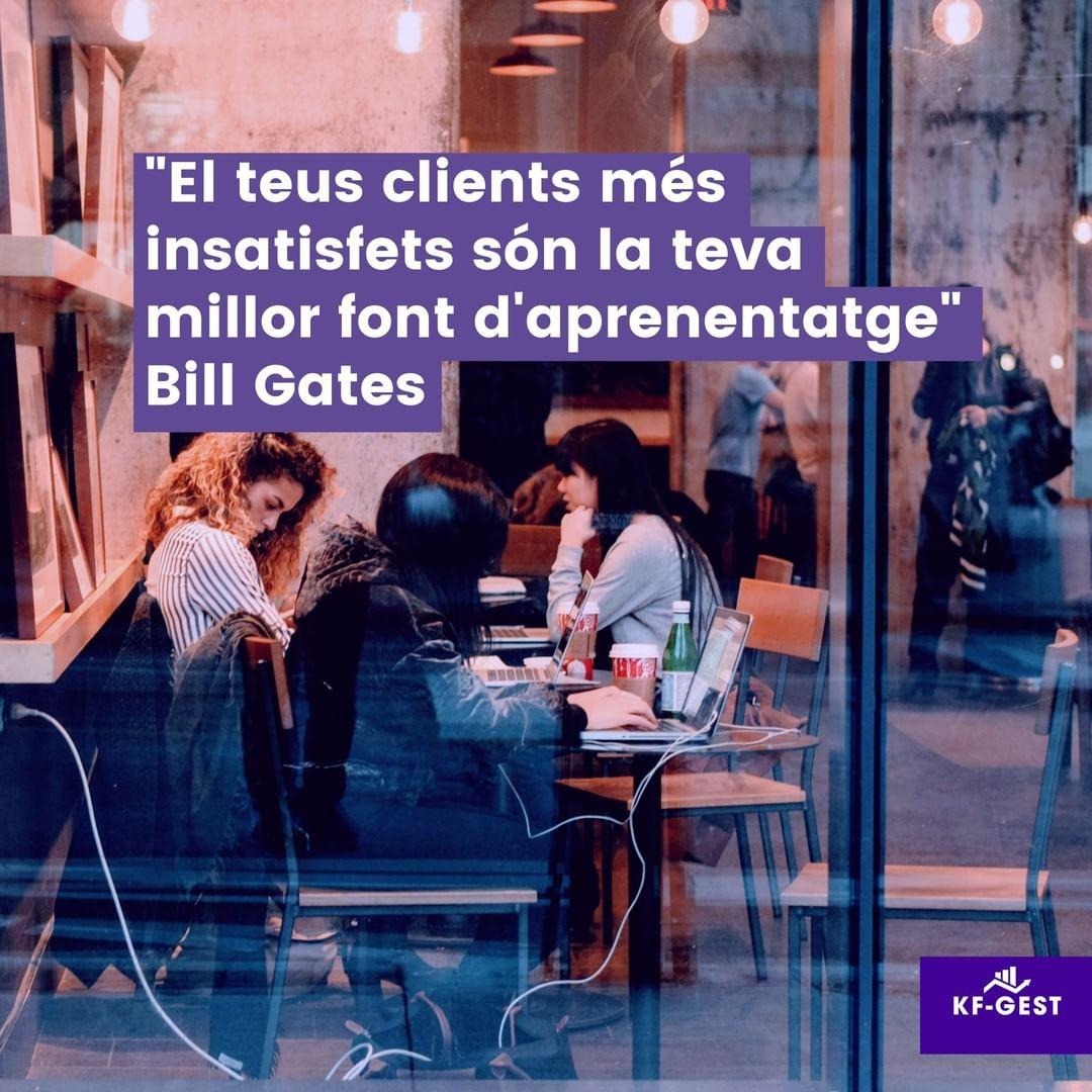 Part de portar un negoci és tractar amb tota mena de clients Alguns solen ser més exigents i d'ells podem aprendre molt. Per poder donar un servei o producte que et faci créixer com a negoci i diferenciar-te de la competència