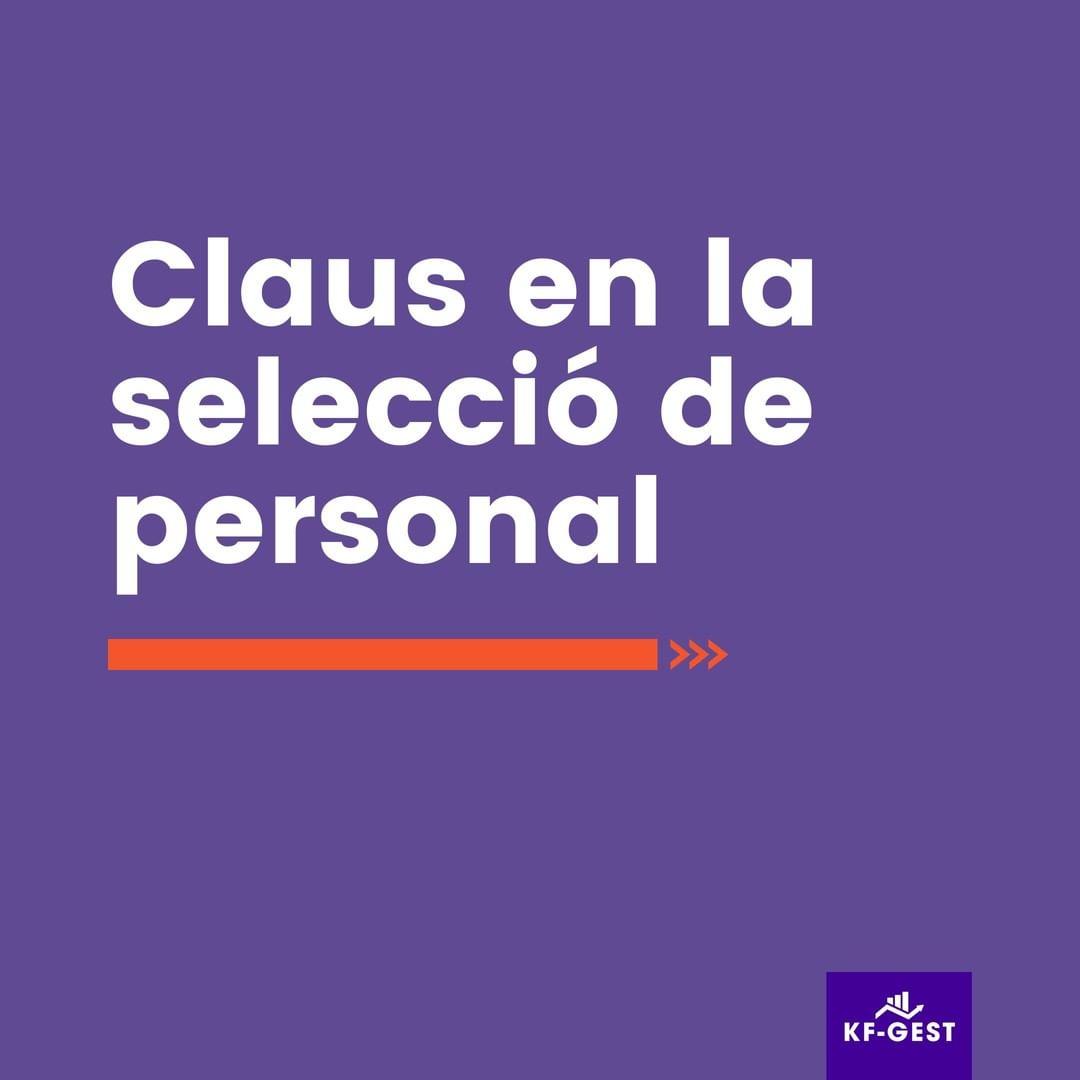 Selecció de personal Andorra i recursos humans A KF-Gest ens encarreguem de buscar les persones adequades per a tu.